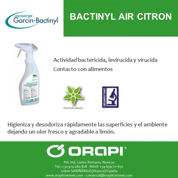 BACTINYL AIR CITRON